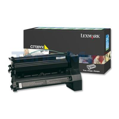 LEXMARK C772 PRINT CARTRIDGE YELLOW RP 15K